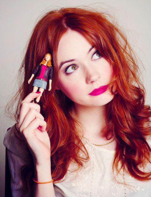 boston-ivy: Wanna get this gorgeous Karen Gillan look?#makeup #tutorial