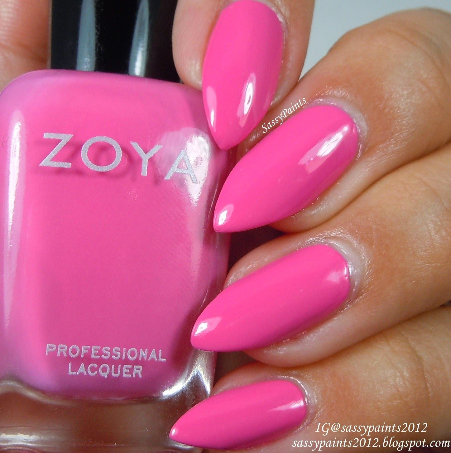 """Sassy Paints: Zoya """"Rooney"""" from the Summer 2014 Tickled Collection"""