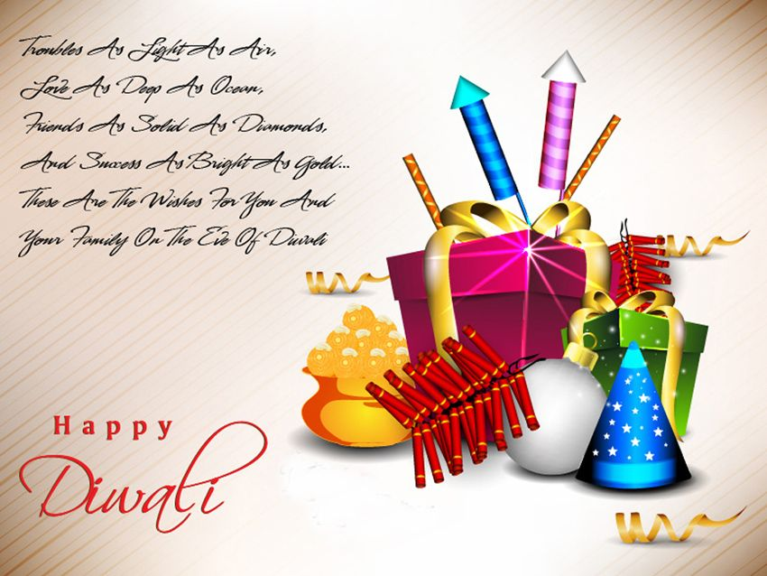 Diwali greeting cards diwali pinterest diwali greetings 30 colorful diwali greeting card designs diwali is one of most famous hindu festivals celebrated with lamps crackers etc m4hsunfo