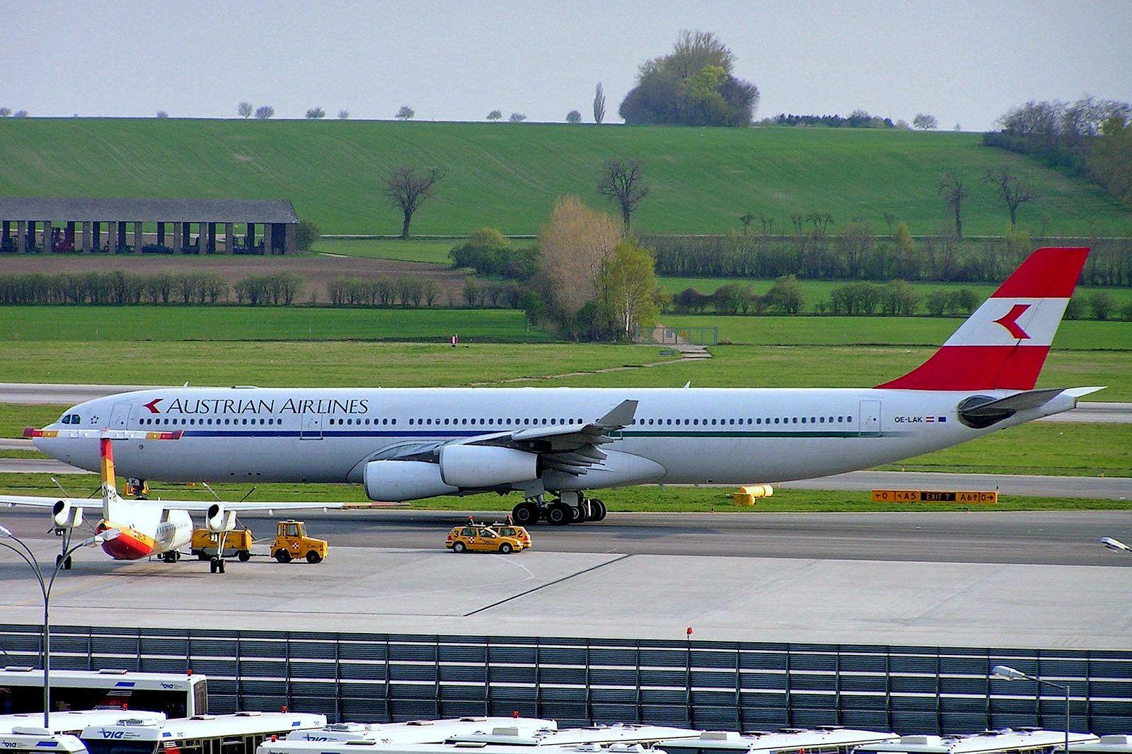OELAK Airbus A340313X [169] (Austrian Airlines) Vienna