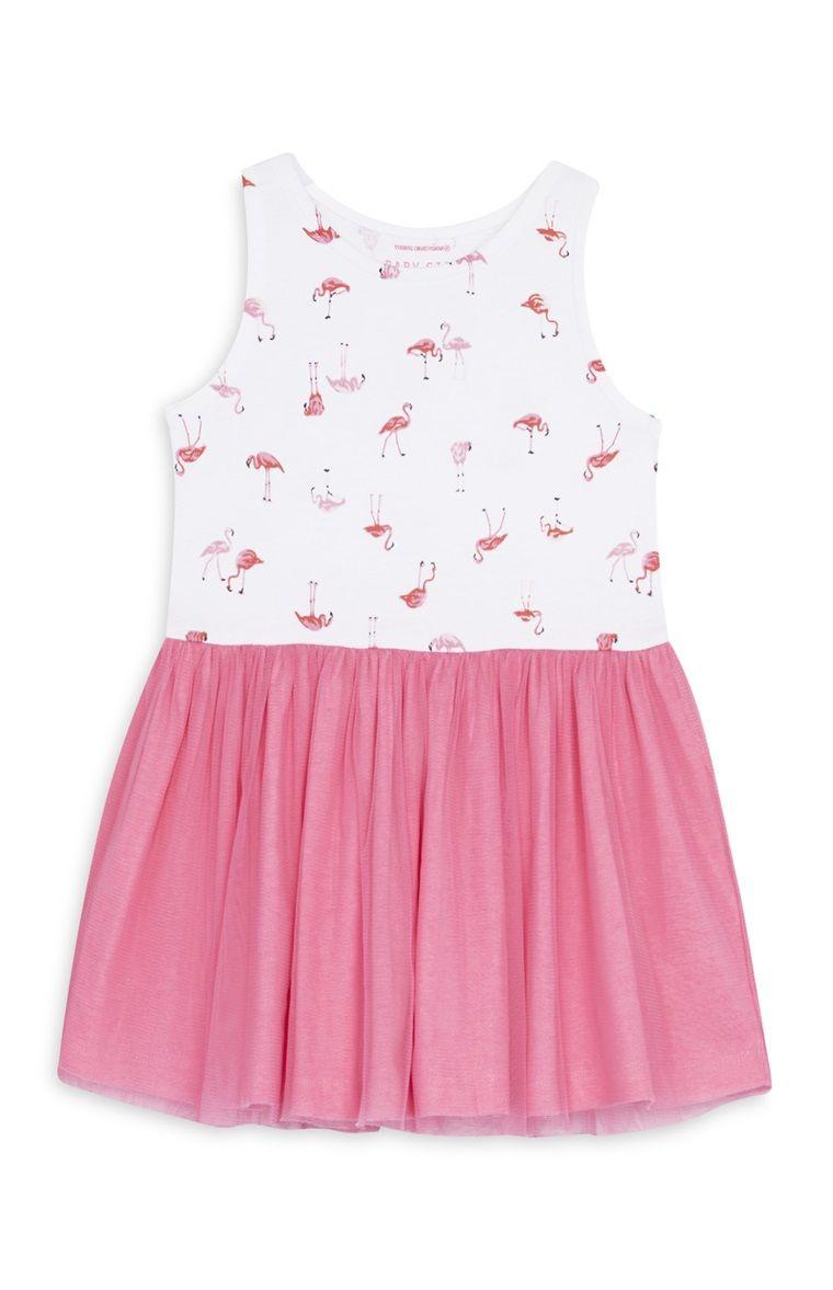0e3a00f9d3877 Primark - Robe d été à flamants roses bébé fille