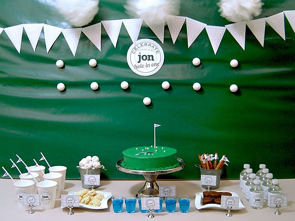 Golf Themed #Birthday Party