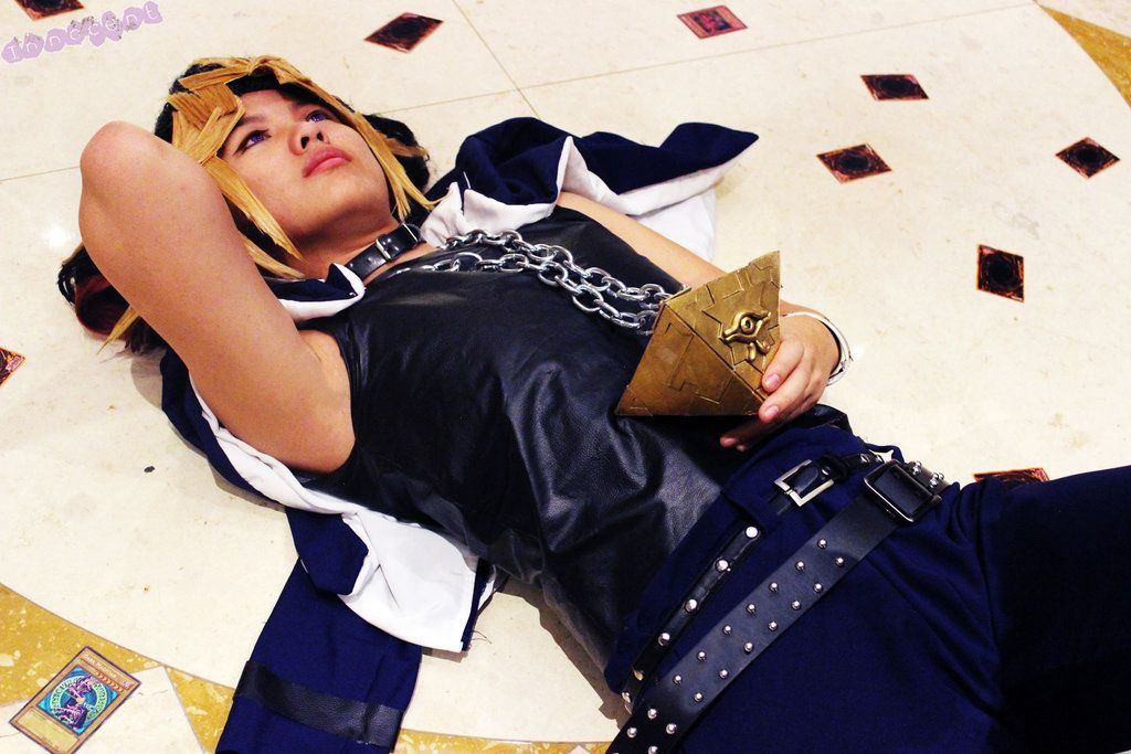 Cosplay Yami Yugi contemplating Cosplay, Best cosplay