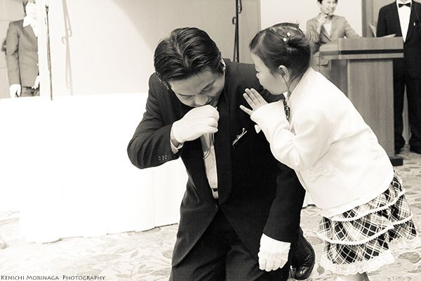 キャプテンはお仕事中 @披露宴にて - ○○しゃしんのじかん    http://blog.goo.ne.jp/moriken_photo/