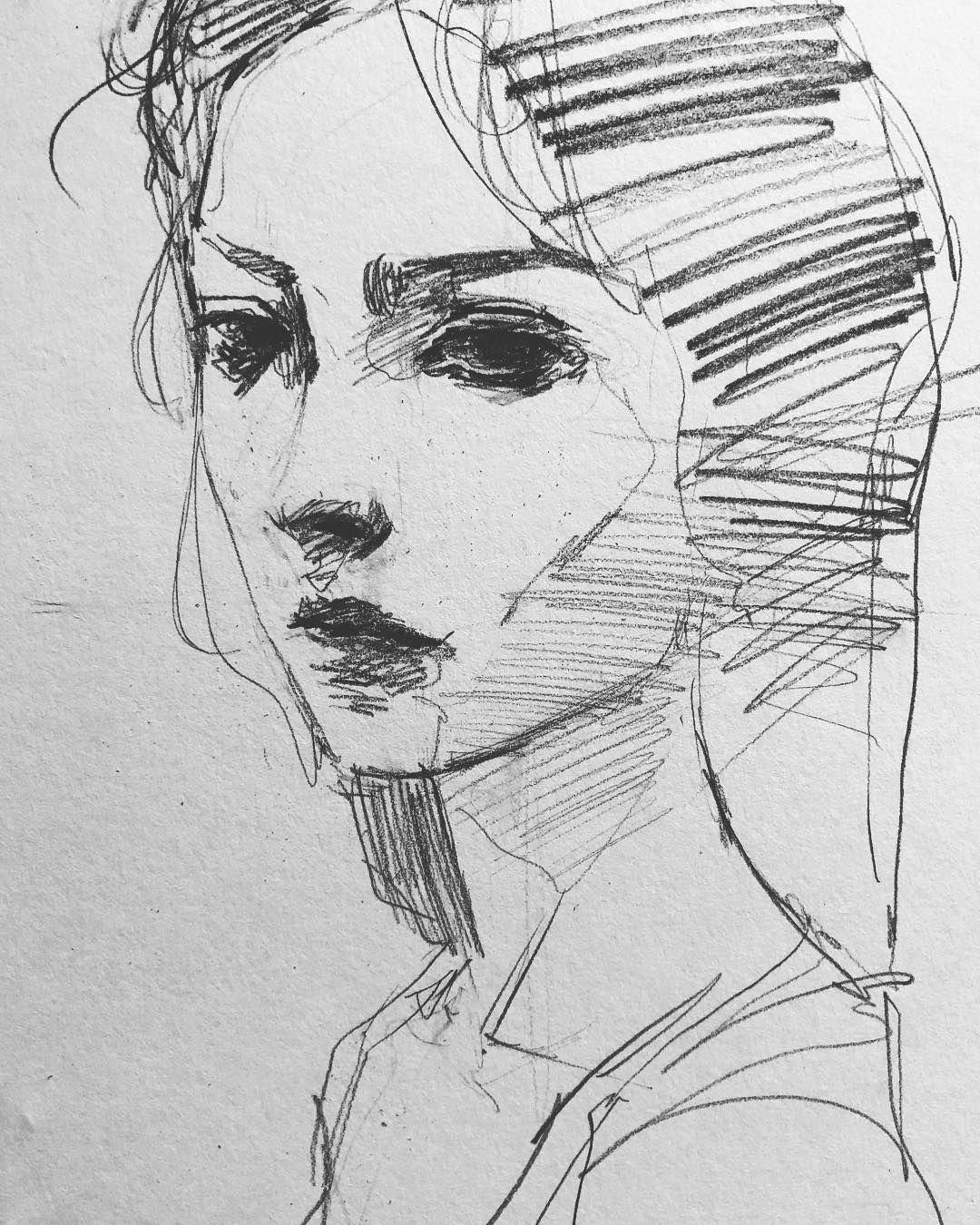 Рисование штрихами картинки
