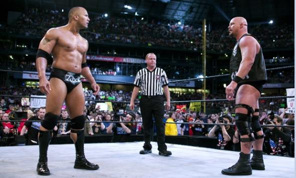 The Rock S 10 Greatest Wwe Matches Wrestlemania Wwe Wwe Wrestlemania 30