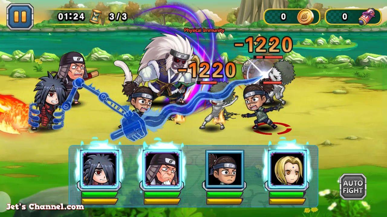 Upgrade Ikura (Game Naruto) | Ninja Rebirth - Monster Legend | Jet's