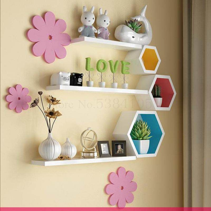 New Living Room Household Flower Shelf Multi Storey Interior Special Price Provincial Space Balcony Decora Wall Decor Bedroom Wall Hanging Shelves Wall Shelves