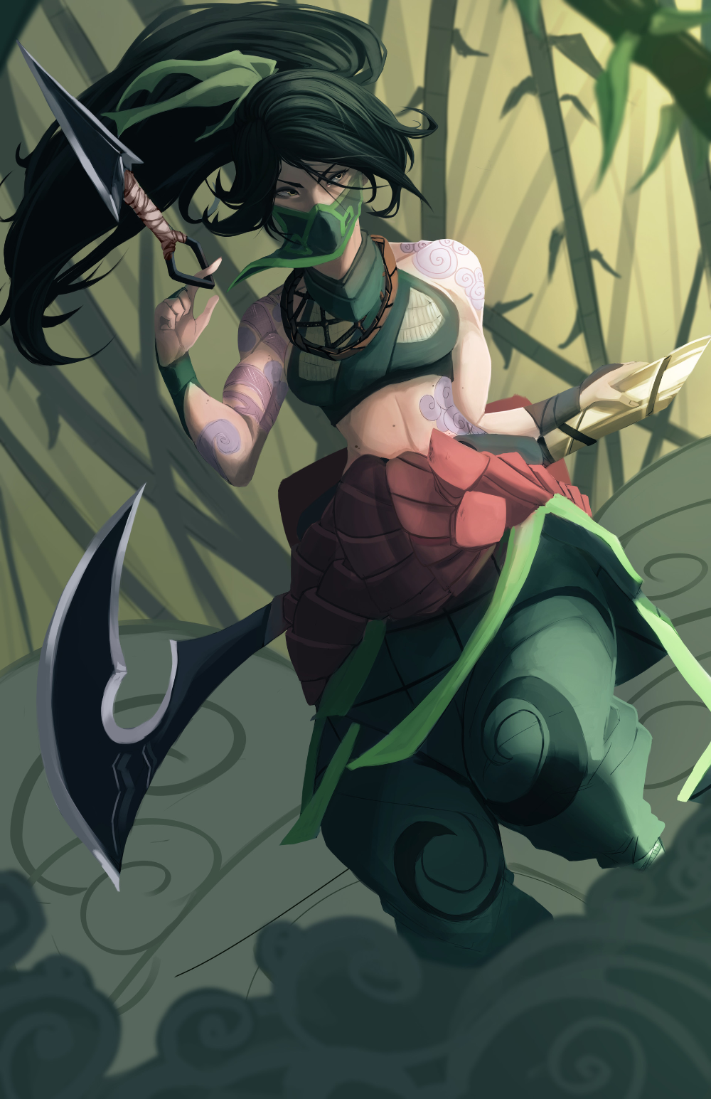The Best Akali Fanart PNG