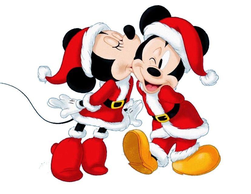 Minnie embrasse mickey mouse walt disney coloriage mickey noel et mickey mouse - Coloriage disney noel ...