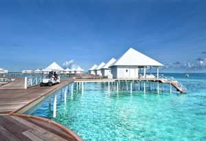 Diamonds Thudufushi Beach Water Villas Island Maldive Resort Tutto Compreso A 4 Stelle Isola Atollo D