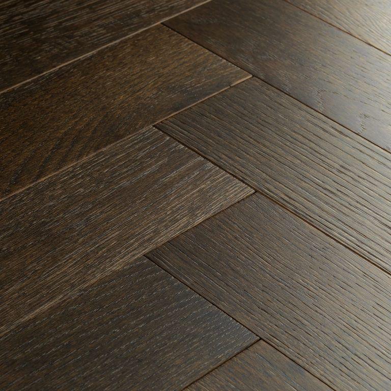 Goodrich Espresso Oak Parquet flooring, Oak parquet