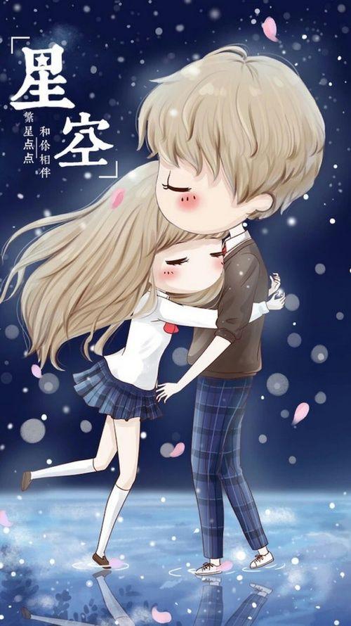 Couple Girl And Cute Image Cute Couple Wallpaper Cute Couple Cartoon Cute Baby Couple