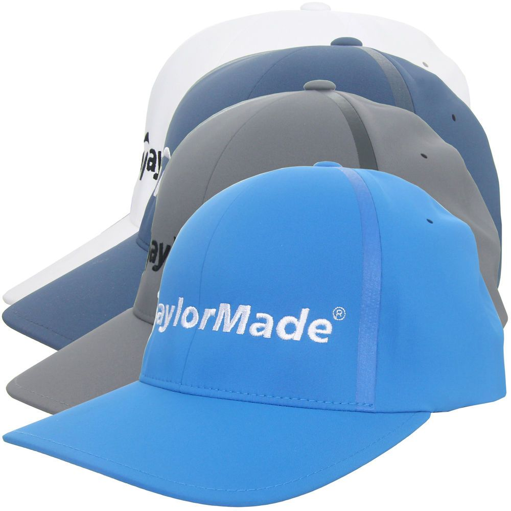 Details about TaylorMade Adidas Golf Flexfit Delta Fitted Hat, New