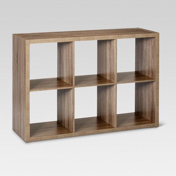 6 Cube Organizer Shelf 13 Threshold Cube Shelves Cube Organizer Cube Storage