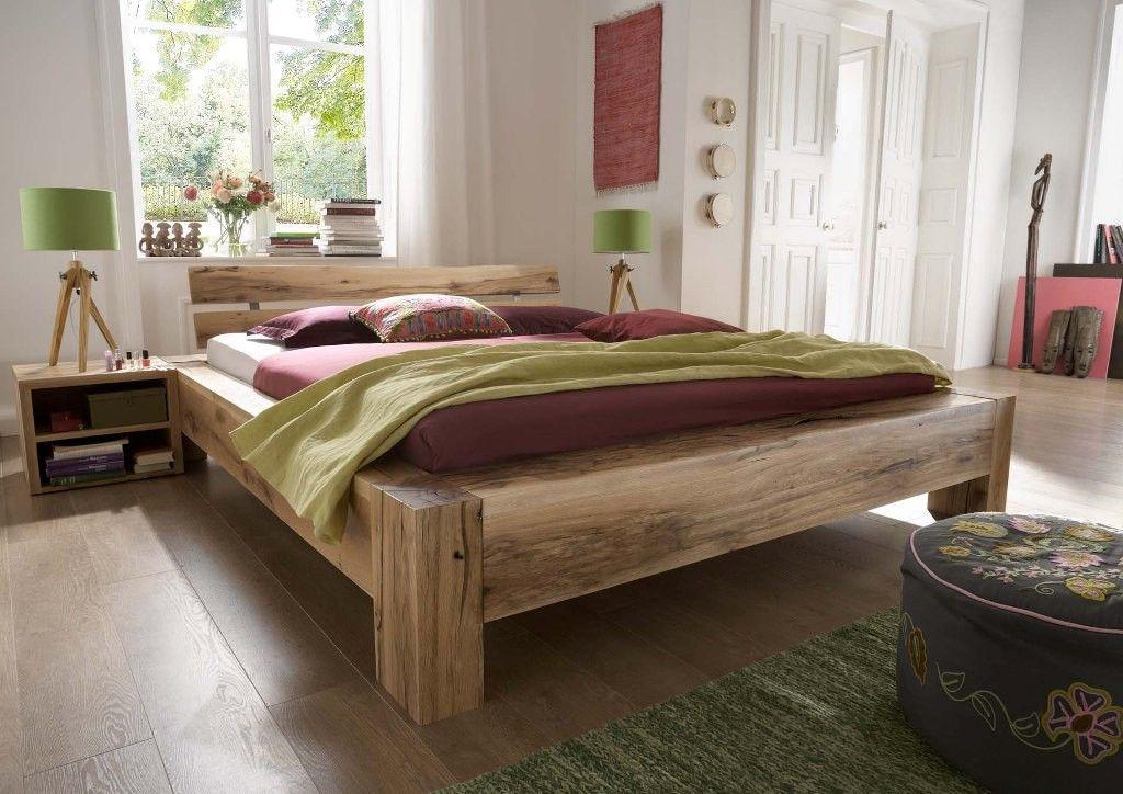 Schlafen Sie gesund und Tief im Bett ALBA aus massiver Eiche ...
