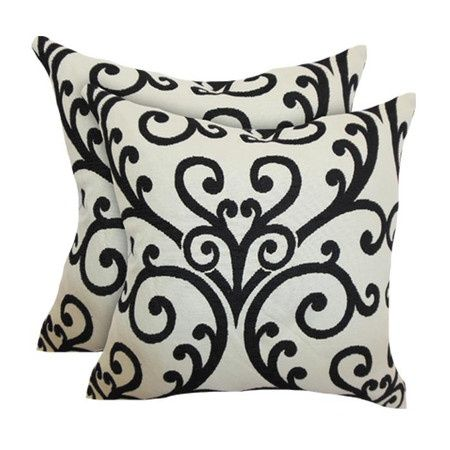 Black & White Pillows.