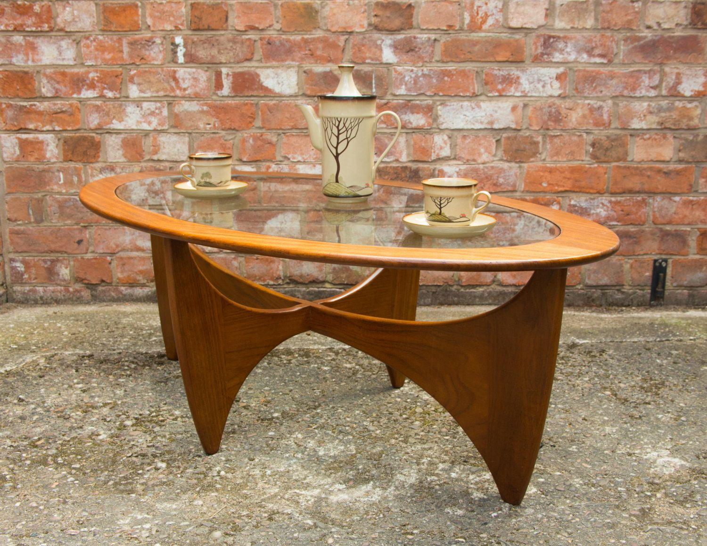Retro Teak G Plan Oval Astro Coffee Table Coffee Table Teak Table [ 1159 x 1500 Pixel ]