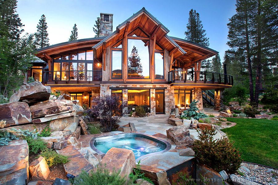 Mountain Home Inspiration North Lake Tahoe Residence