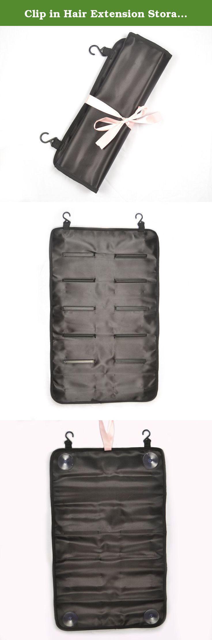 Clip In Hair Extension Storage Case 8 24 Ur Black Hair
