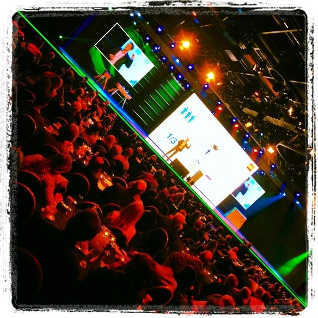 De groene lichtlijn, en #MaikelVerhaaren (#GfK) #MediaparkJaarcongres #Mediapark #Hilversum #mpjc2014 #iMMovator