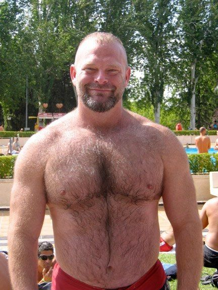men Gay hairy bear