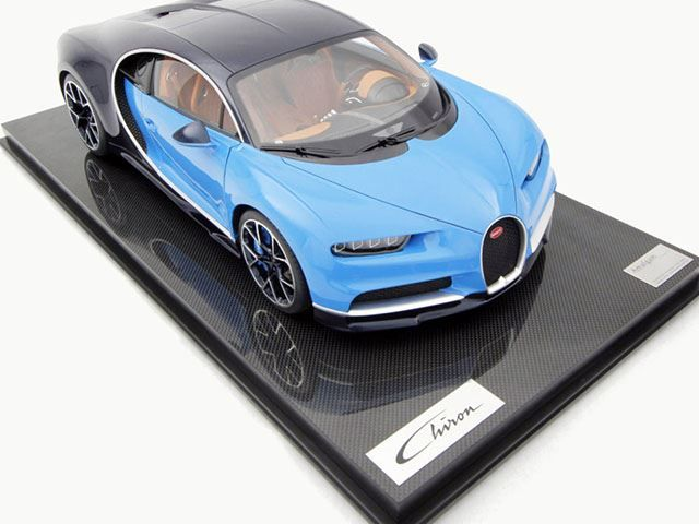 The 10 000 Bugatti Chiron Is The Cheapest In The World But You Cannot Drive It Amalgam Model Car Collection Ha Bugatti Chiron Bugatti Model Cars Collection