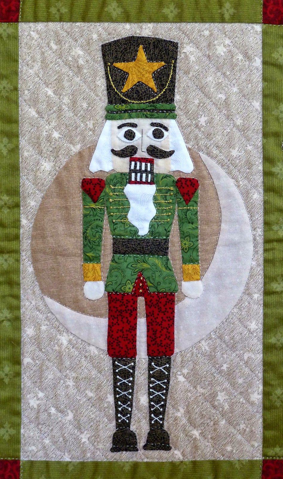 Nutcracker quilt block by Sue Garman.   Christmas Quilts ... : nutcracker quilt - Adamdwight.com