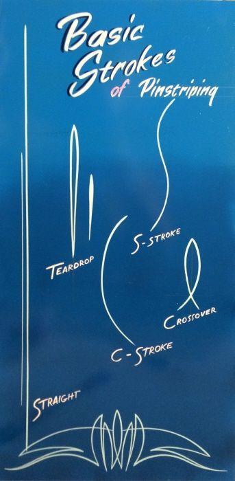 Pinstriping and sign writing service