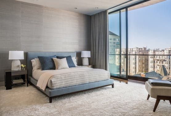 Pacific Heights Residence Bedroom Contemporary Modern MidCenturyModern By Niche  Interiors