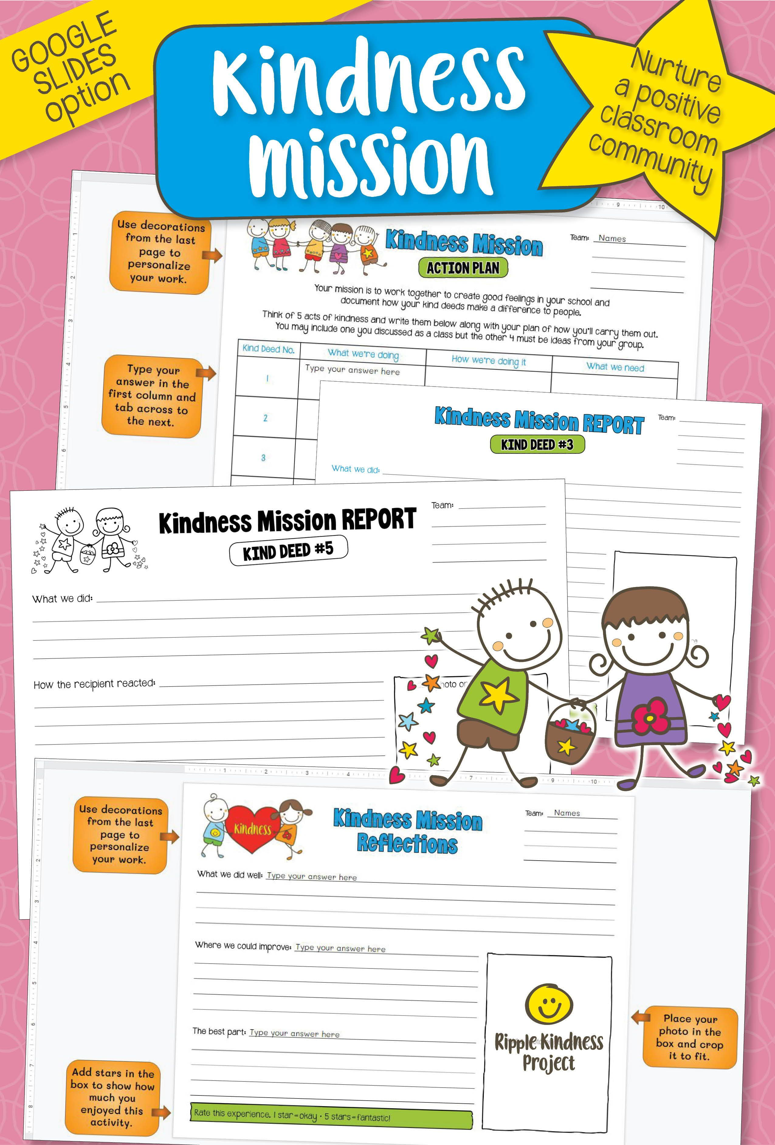 Acts Of Kindness Activity