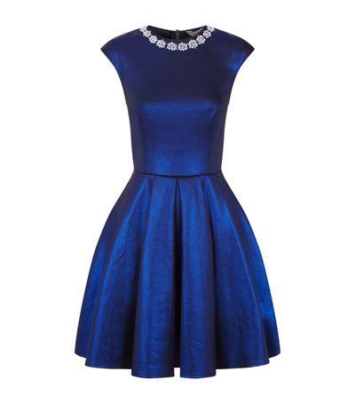 e5e7cfe7559580 TED BAKER Amya Embellished Skater Dress.  tedbaker  cloth