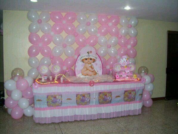 Baby shower globos