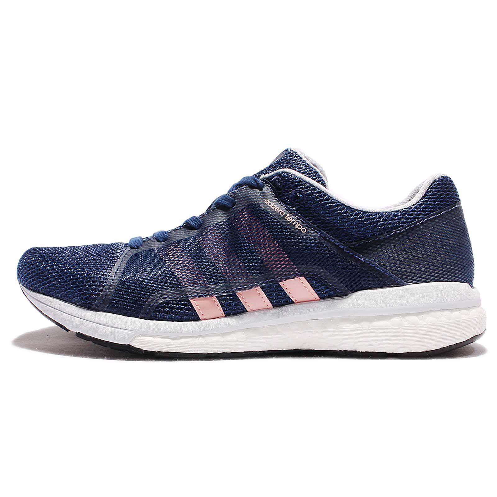 Adidas Adizero Tempo 8 SSF Women's Running Shoes - SS17 - 7.5 - Navy Blue.