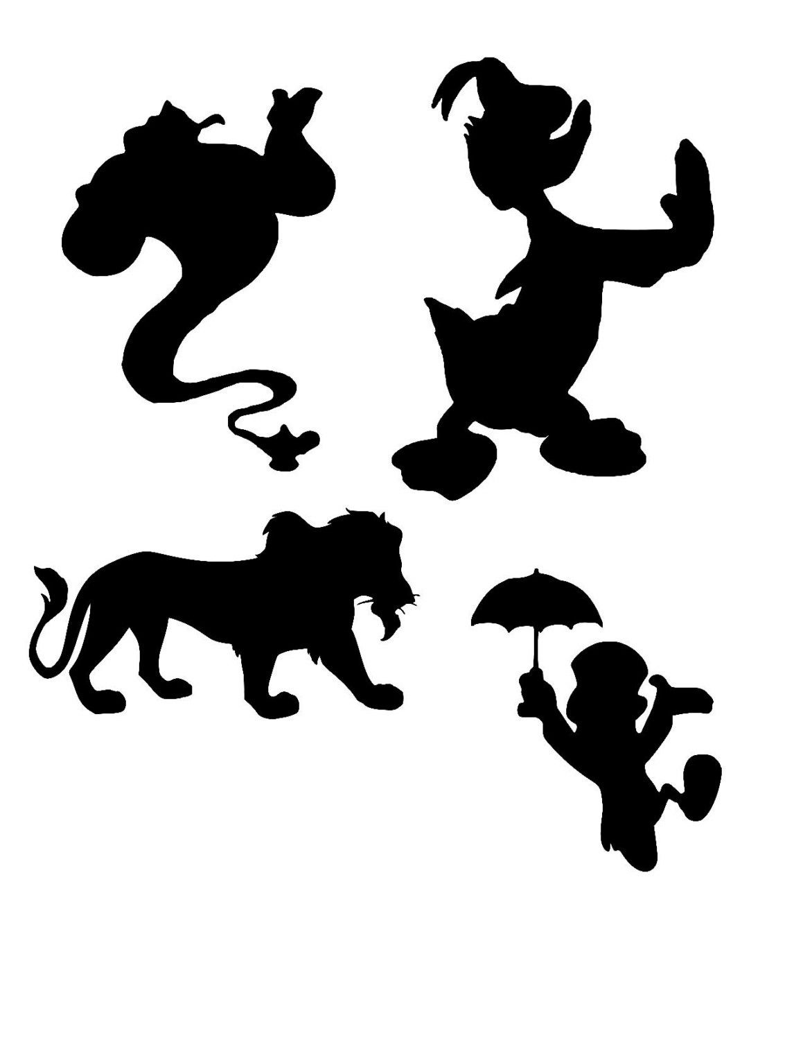 Excited to share the latest addition to my #etsy shop: disney ... for Genie Silhouette  54lyp