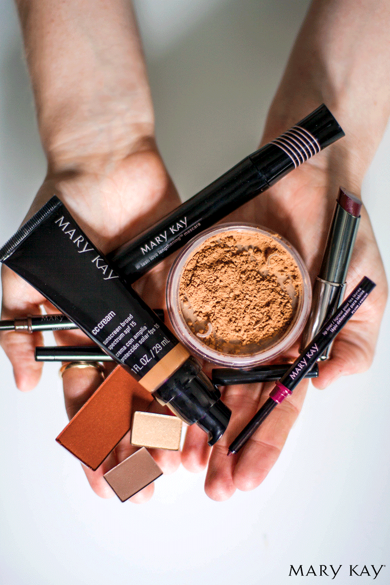 A complete makeup look doesn't need to be more than a