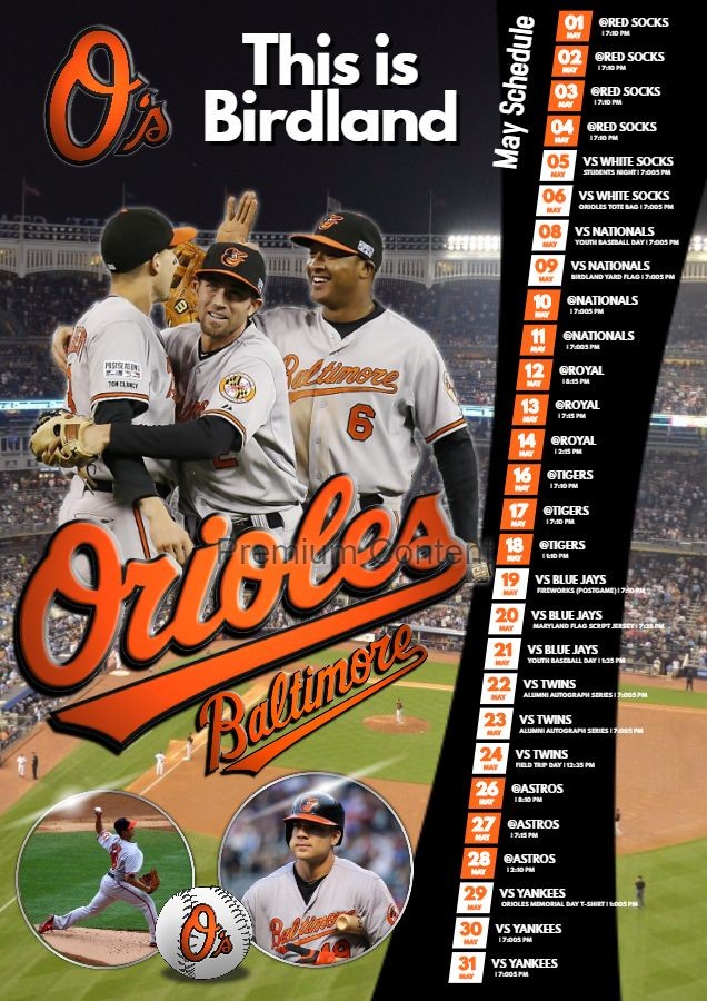 Sports Team Schedule Poster Template Baseball Posters Baseball