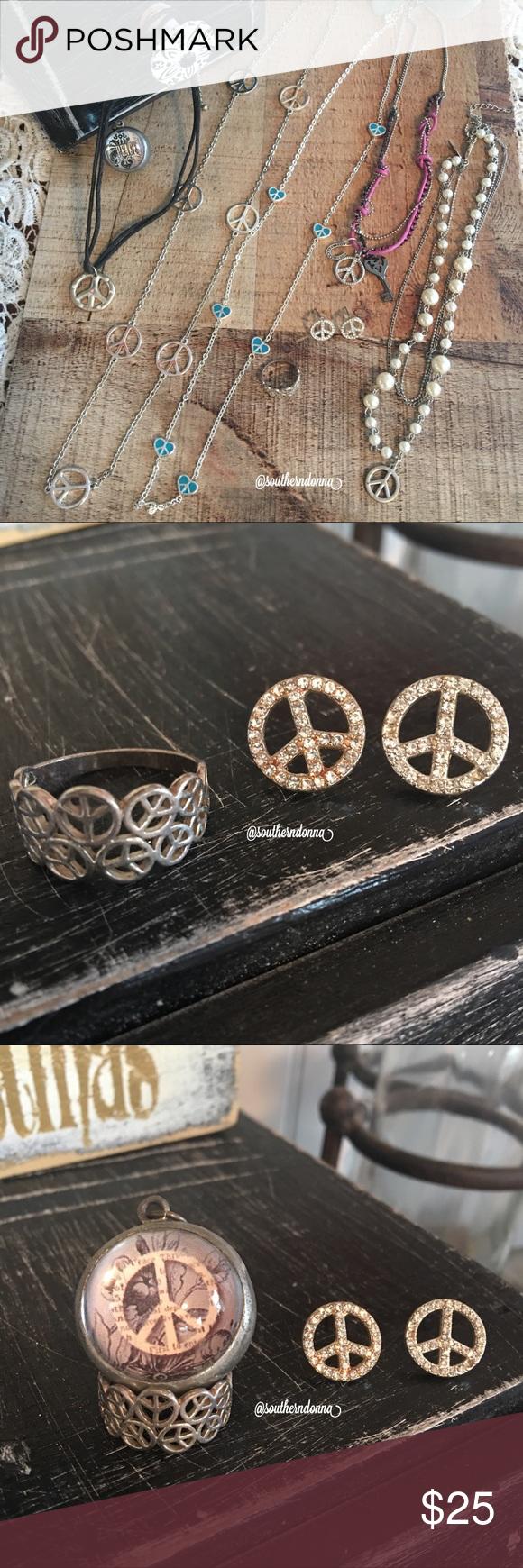 Download ️ HP 🎉Girls Bundle of Peace☮️Jewelry | Peace jewelry, Kids ...