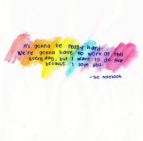 Non Cheesy Love Quotes Amazing I'm Not Into Cheesy Quotes From Romantic Movies But The Notebook Was