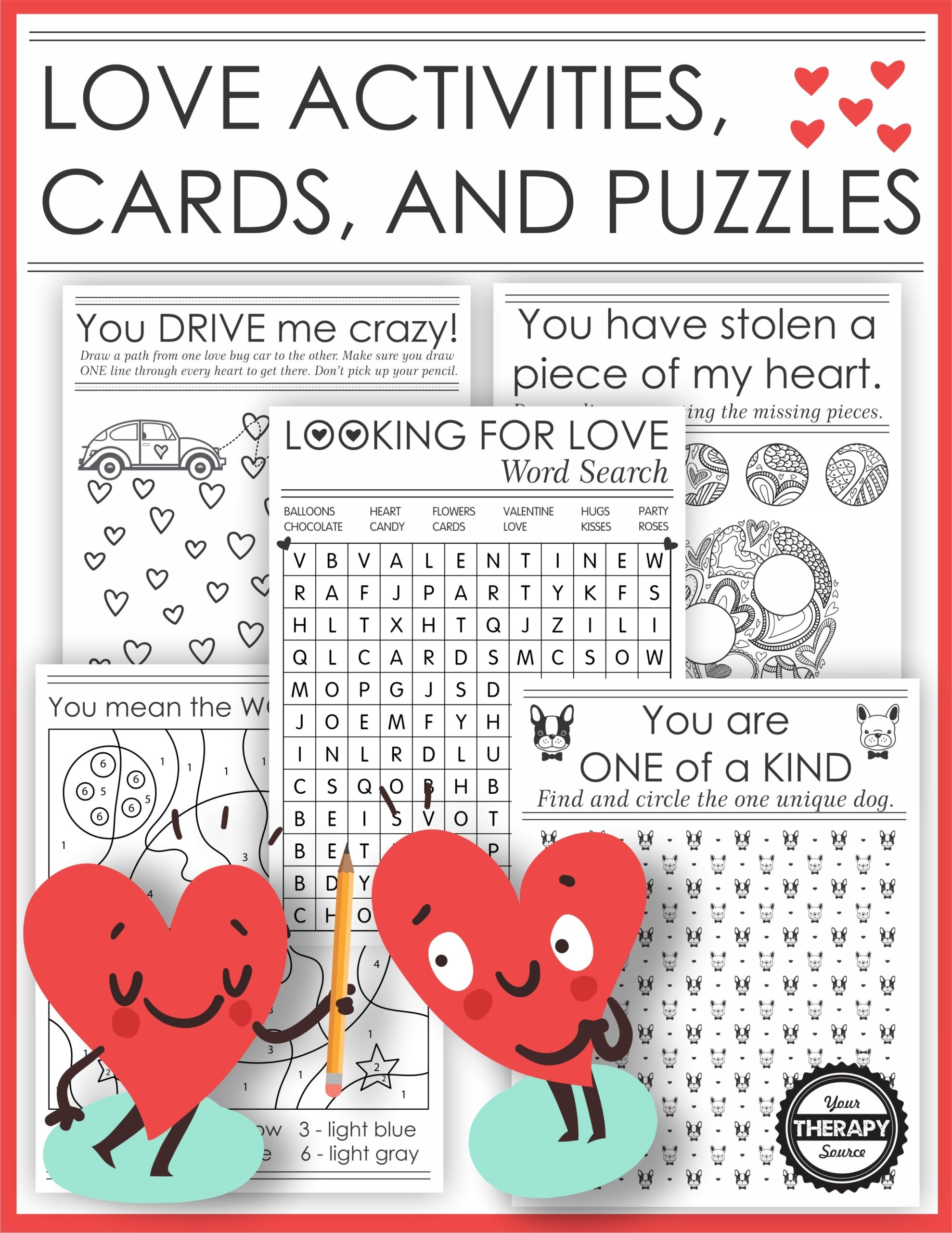 Puzzles About Love