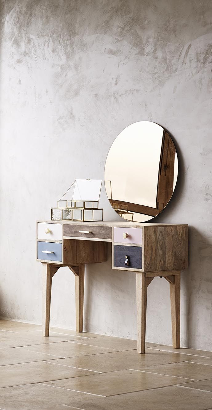 Powder up alongside the alicia dressing table home decoration