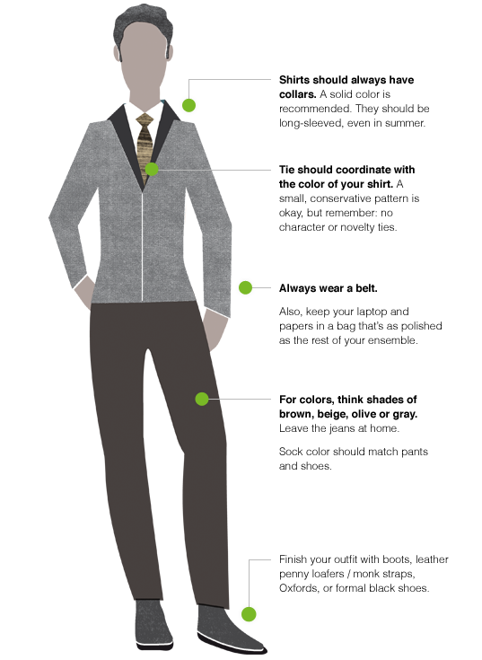 how to dress corporate casual contemporary code