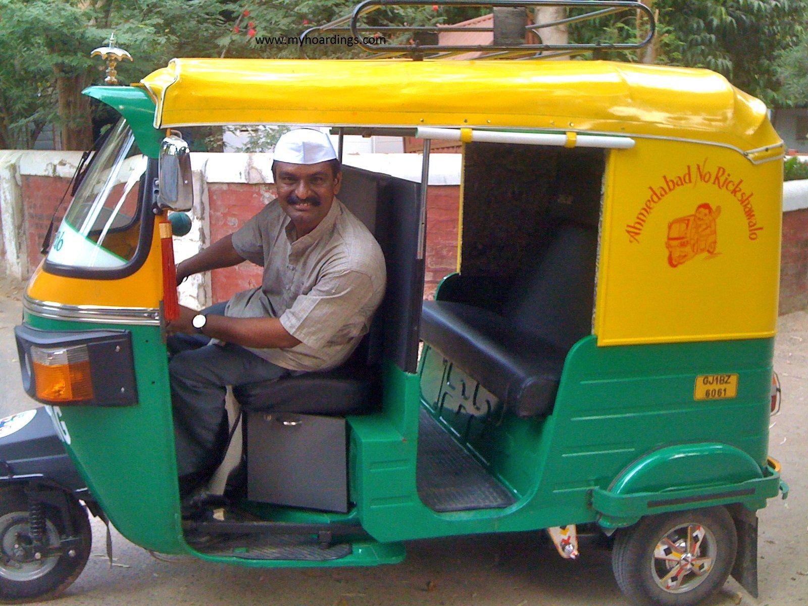 Auto Rickshaw Advertising in Hyderabad