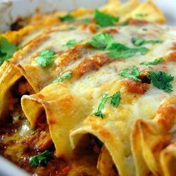 Jalapenos and Onion Enchiladas
