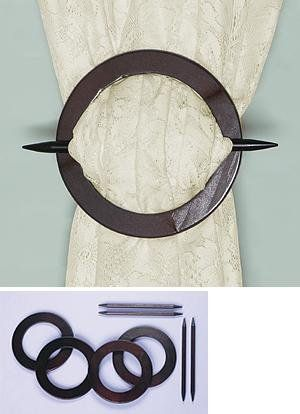 Interesting Tie Back For Sheers Amazon Com Wood Tieback Drape