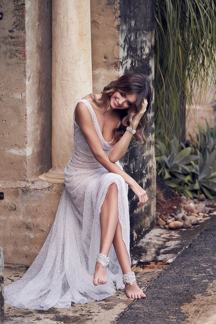 Wanda Wedding Dress by Anna Campbell Wanderlust Collection