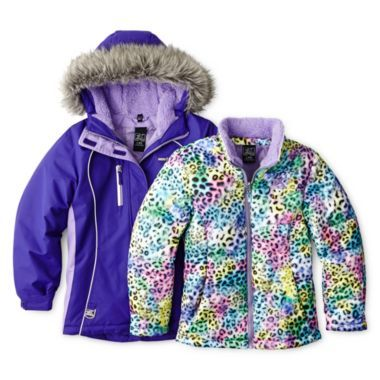 fcd55dcd0 Vertical 9 3-in-1 Systems Ski Jacket - Girls -16 found at  JCPenney ...