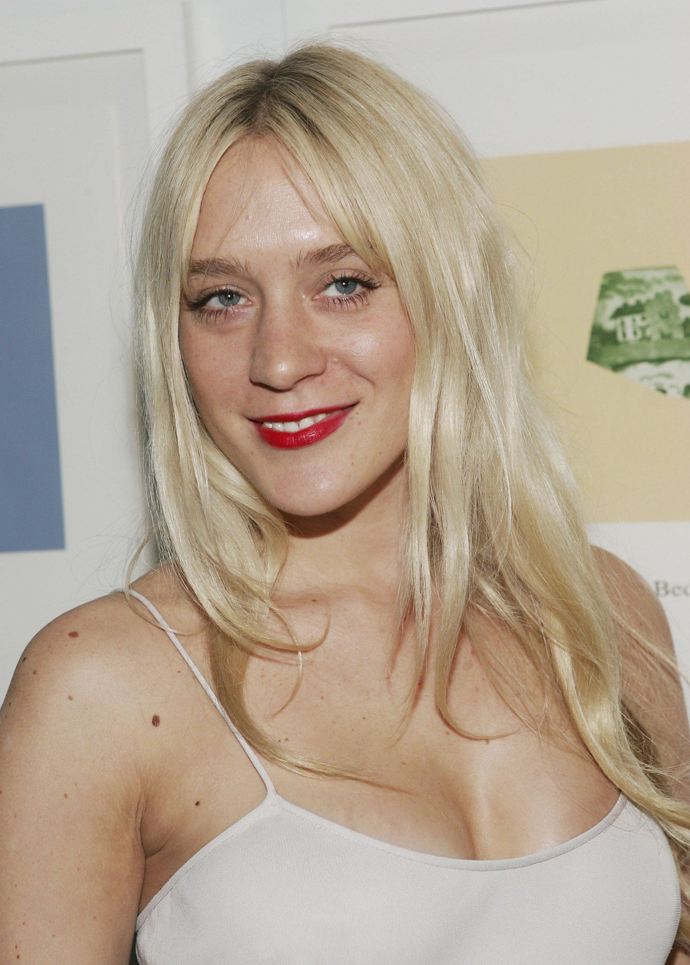 Chloë Sevigny - 2018 Light Blond hair & chic hair style. Current length:  long hair (bra strap length)