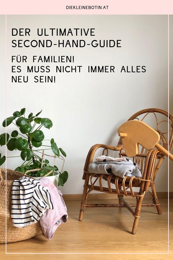 Second Hand Guide für Familien Nachhaltigkeit für kinder