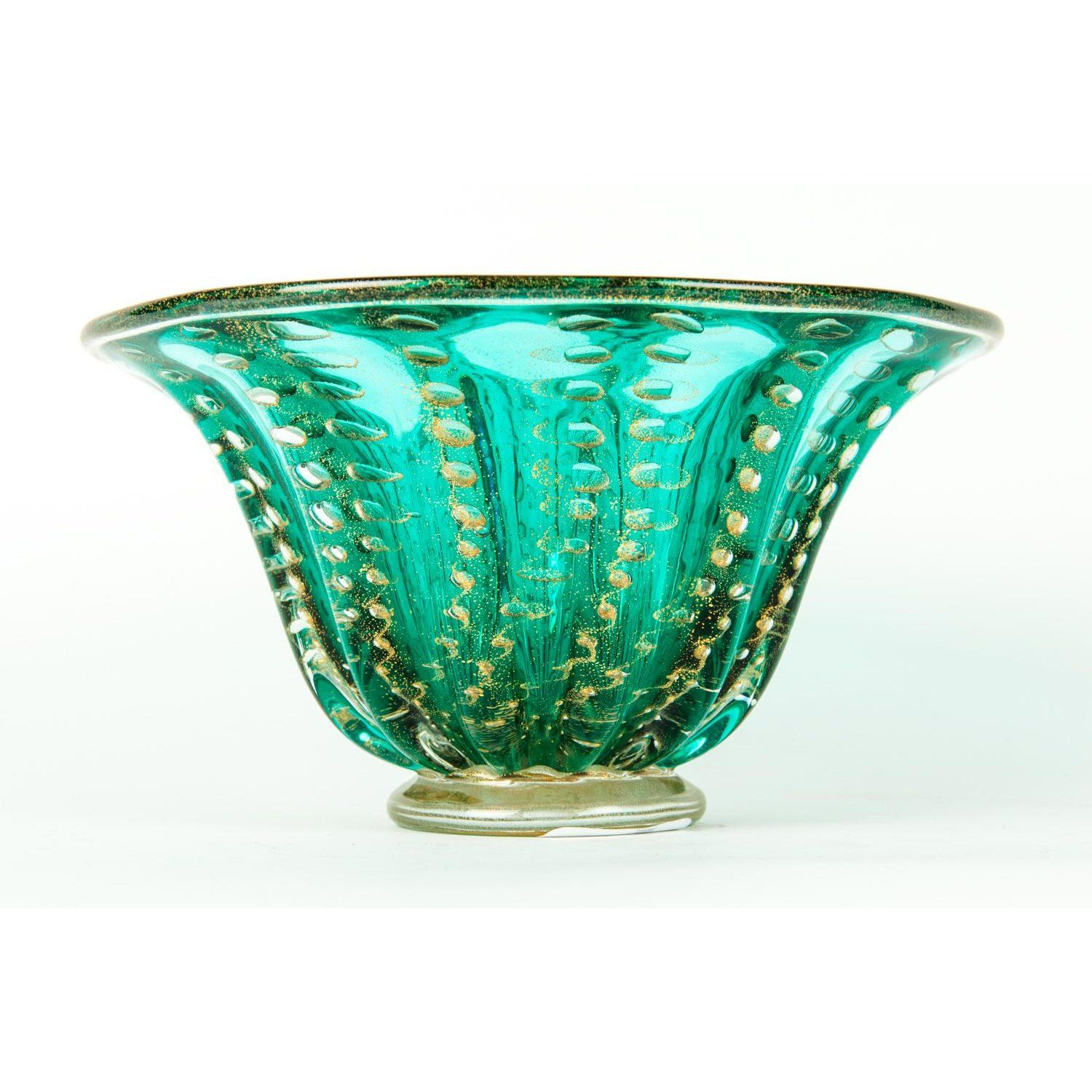Midcentury Murano Glass Decorative Piece Bowl Image 2 Of 6 Mid